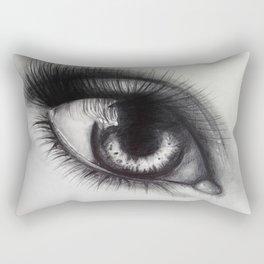 Eye Sketch 1  Rectangular Pillow