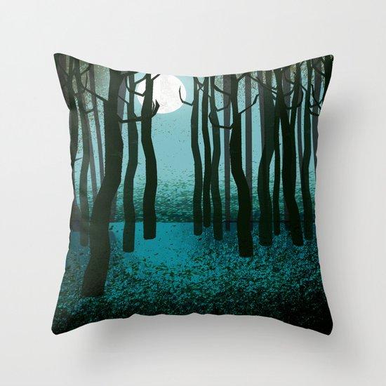 Transfigured Night - Verklarte Nacht  - Schoenberg Throw Pillow