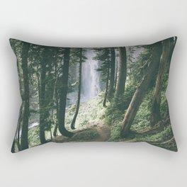To The Falls Rectangular Pillow