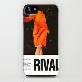 Self Rival iPhone Case