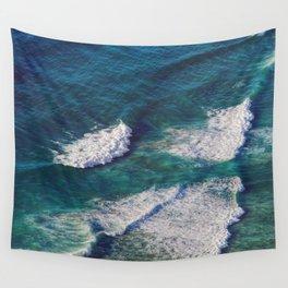 Waves Crashing Wall Tapestry