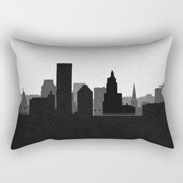 City Skylines: Providence Rectangular Pillow