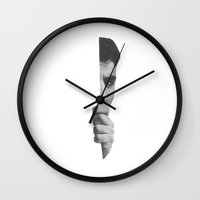 Agoraphobian Wall Clock