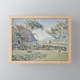Comblat-le-Château, the Meadow Framed Mini Art Print