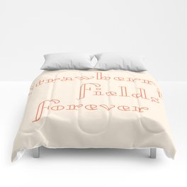 strawberry fields forever Comforters