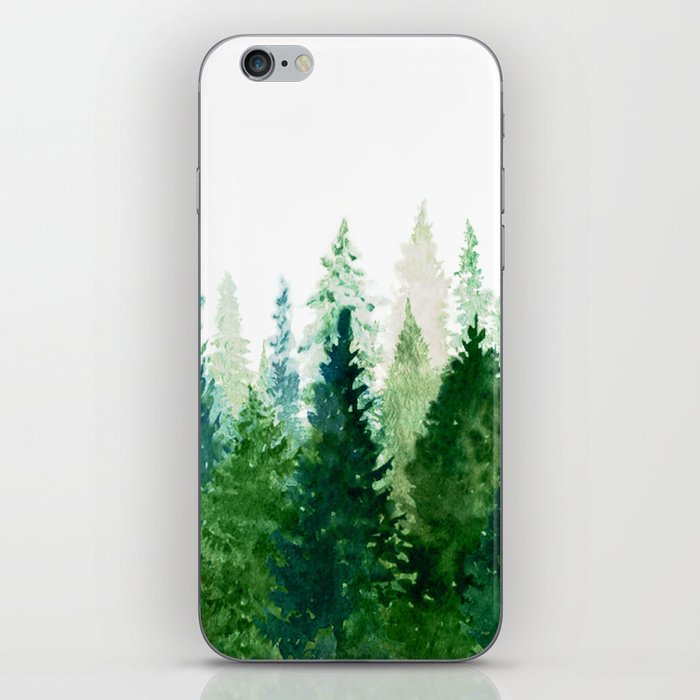Pine Trees 2 iPhone Skin