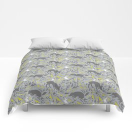 Folky Forest Comforters