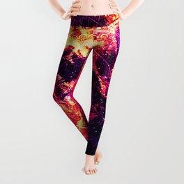 Cosmic mandala #7 Leggings