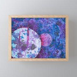 Space Crunch Framed Mini Art Print
