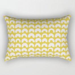 Ceylon Yellow & Half Circles Rectangular Pillow