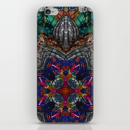 Psychedelic Botanical 16 iPhone & iPod Skin