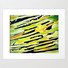 Jungle Lightspeed Art Print