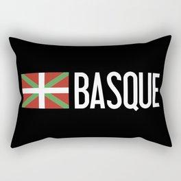 Basque Country: Basque Flag & Basque Rectangular Pillow