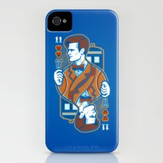 11th of Hearts iPhone (4, 4s) Slim Case