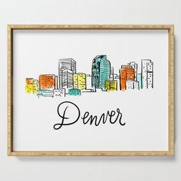 Denver Serving Tray