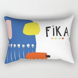 Fika Collage Rectangular Pillow