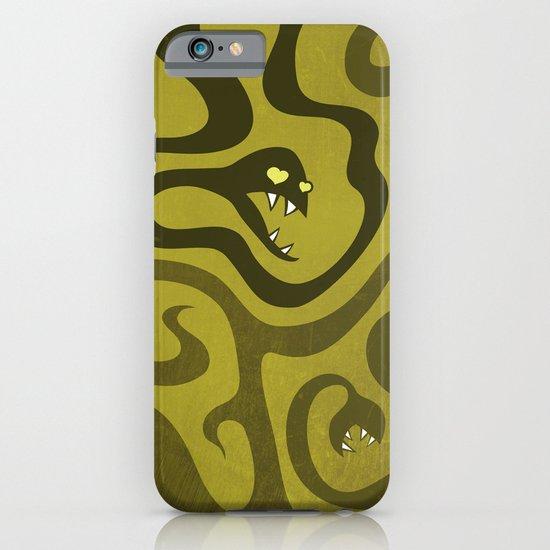 Funny Cartoon Evil Snakes iPhone & iPod Case