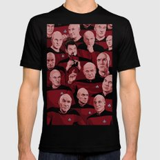 Picard Day Mens Fitted Tee Black 2X-LARGE