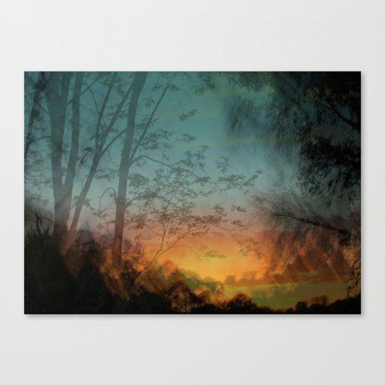 Faraway Canvas Print