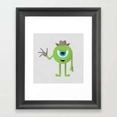 Mike / Freddy Framed Art Print