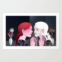 Ageing Art Print