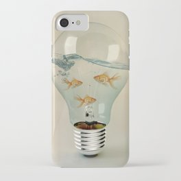 IDEAS AND GOLDFISH 03 iPhone Case