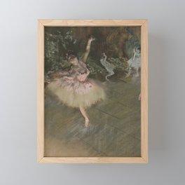 The Star Framed Mini Art Print