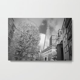 The Shard London Bridge Tower England Metal Print