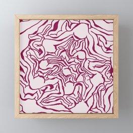 Cabbage Core Framed Mini Art Print