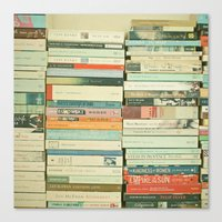 contact Canvas Prints featuring Bookworm by Cassia Beck