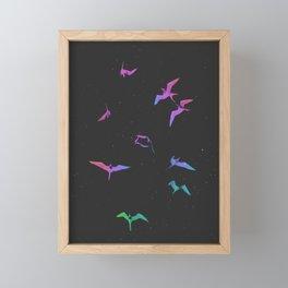 The magnificent frigatebirds by #Bizzartino Framed Mini Art Print
