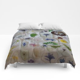 Flowers on the Beach 2 Comforters