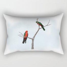King Parrots Rectangular Pillow