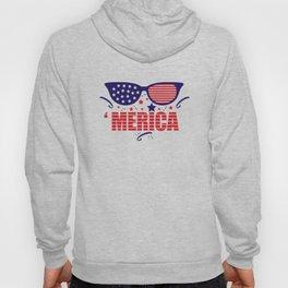 America 4th July Hoody