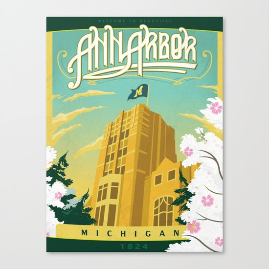 Ann Arbor Union Canvas Print