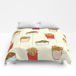 Gimme Fries Comforters