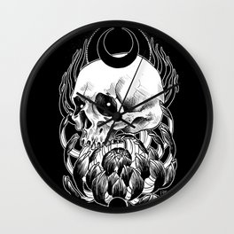 Crysanthemum Wall Clock