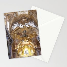 Santa Maria dell'Orto Church, Rome, Italy Stationery Cards
