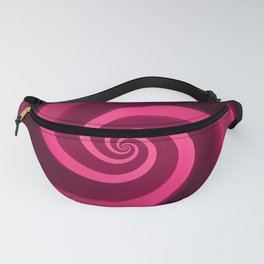 silk red Fanny Pack