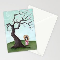 Japanese Cherry Tree Stationery Cards