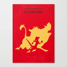 No512 My The Lion King minimal movie poster Canvas Print