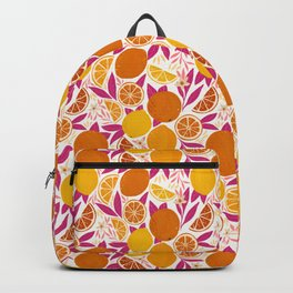 Citrus Fruits - Pink Lemonade Backpack
