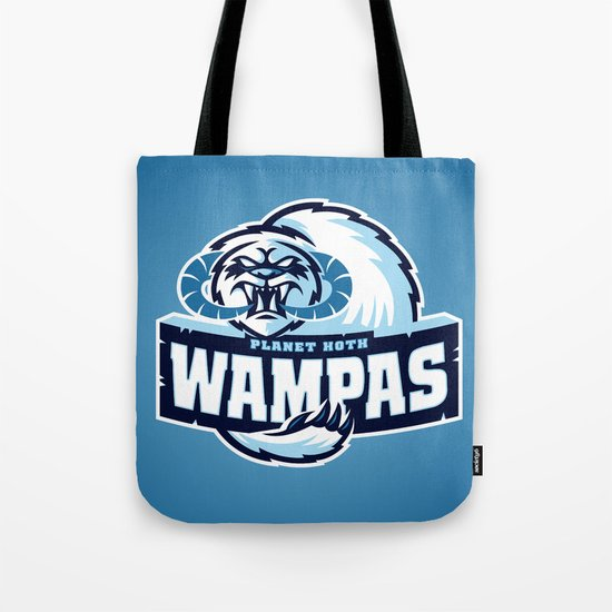 Planet Hoth Wampas - Blue Tote Bag
