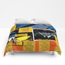 Bird of Steel Comix – 7 of 8 (Society 6 POP-ART COLLECTION SERIES) Comforters