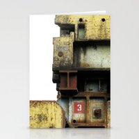 industrial Stationery Cards featuring Industrial by mimifaktur