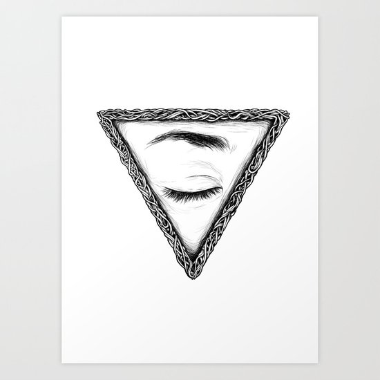 Sleep Art Print