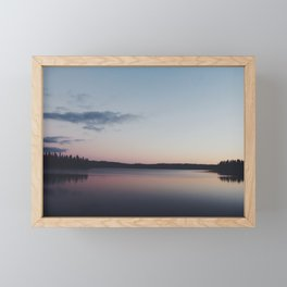 Huntington Lake Framed Mini Art Print