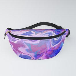 Psychedelic Marble Fanny Pack