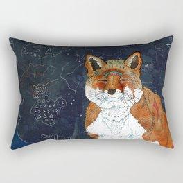 Lunar Kitsune Rectangular Pillow