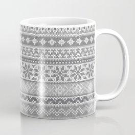 Fair Isle Gray Coffee Mug